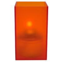 Vierkante Acrylhouder, Oranje